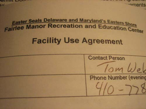 Camp Agreement