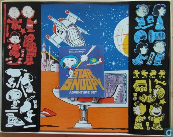 Star Snoopy Adventure Set by Colorforms
