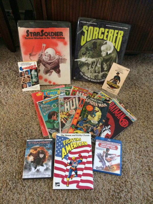 Sorcerer, StarSoldier, comics, and more