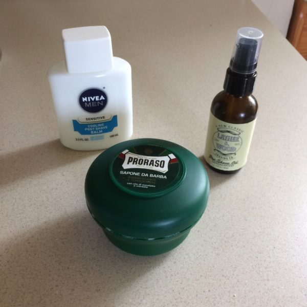Shaving Soap, Balm, and Oil