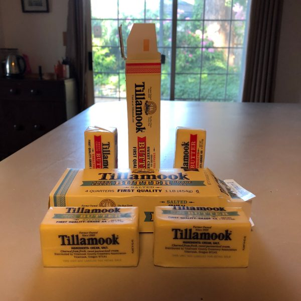 Tillamook salted & unsalted Western Stubbies
